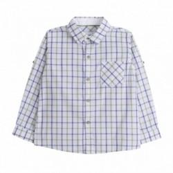 Camisa cuadros verdes - Newness - JBV98273