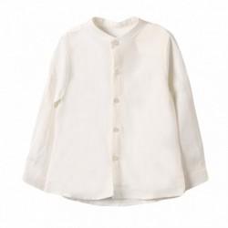 Camisa cuello mao lino - Newness - JBV99220