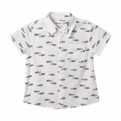 Camisa estampado peces - Newness - JBV99234