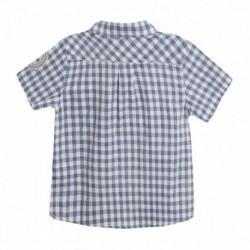Camisa cuadros azules y blancos - Newness - JBV99235