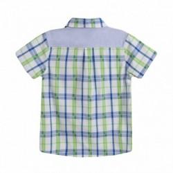 Camisa cuadros verdes - Newness - JBV99251