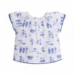 Camisa estampada de los niños juangando