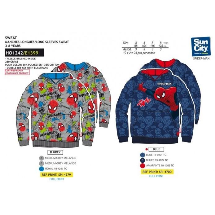 TMBB-HO1242 venta al por mayor de ropa bebe CANGURO SUDADERA