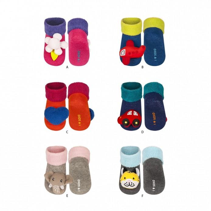 Calcetines bebé con sonajero fabrica de ropa de bebe al por