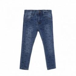 Pantalón largo vaquero estampado - Newness - JGV58819