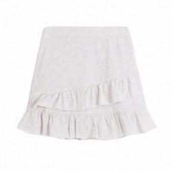 Falda algodón volantes