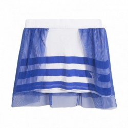 Falda con tul azulón