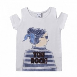 Camiseta espalda de chica you rocki - Newness - JGV69847