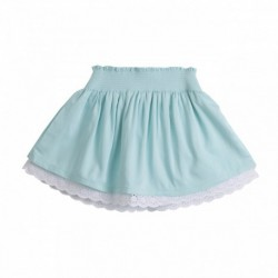 Falda con cintura de gomas
