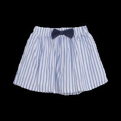 Falda popelón rayas azules con lazo - Newness - JGV98851