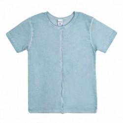 Camiseta lisa lavada especial