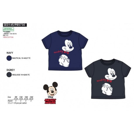 TMBB-SE0145-1 Comprar ropa al por mayor Camiseta mickey Niño