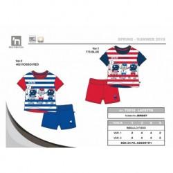 TMBB-73016 Comprar ropa al por mayor Conjunto corto bebe niño