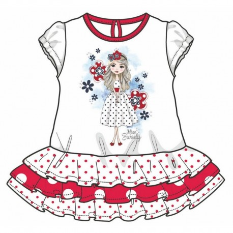 TMBB-73096 ropa bebe al por mayor Vestido bebe niña - Arnetta