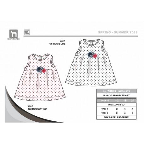 TMBB-73097 ropa bebe al por mayor Vestido bebe niña - Arnetta