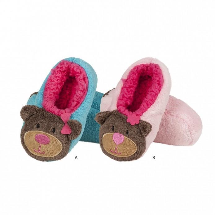 Zapatillas tundosadas con suela blanda