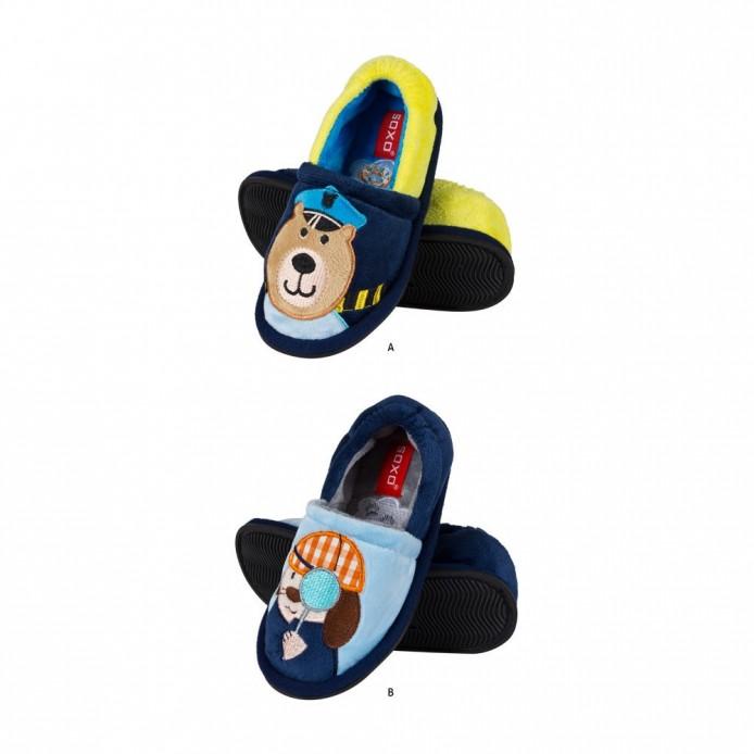 Zapatillas tundosadas con suela de goma - Soxo - SXV-40465