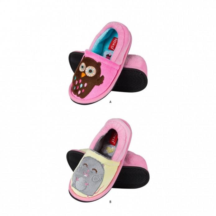 Zapatillas tundosadas con suela de goma