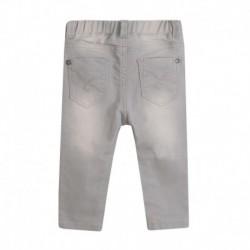 Pantalón vaquero largo elástico goma en cintura
